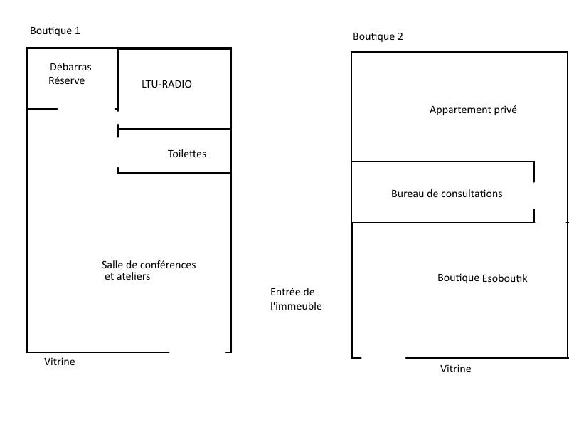 plan de la boutique ésoboutik